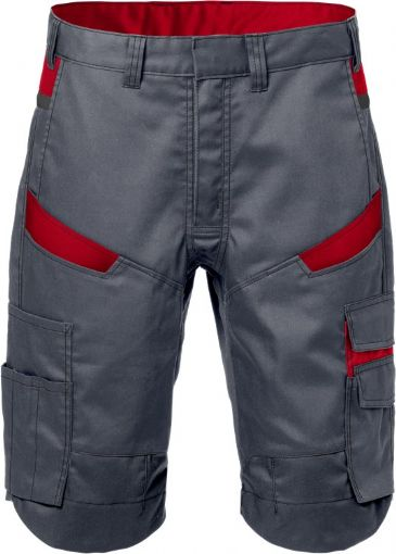 Fristads Shorts  2562 STFP  (Grey/Red)